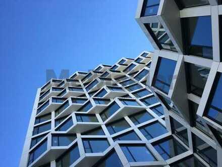 Modernes Wohnen - Exklusive Loft-Mietwohnung mit Panoramafenstern und Concierge-Service