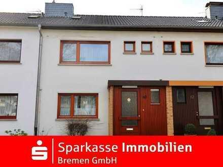 Gemütliches Reihenmittelhaus in guter Lage von Bremen-Blumenthal