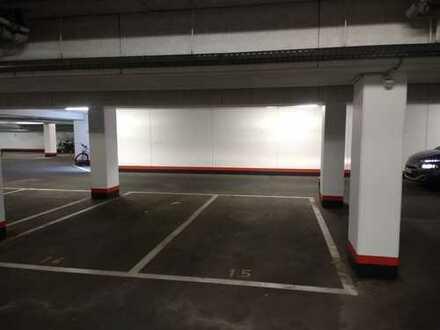 Garagenstellplatz in Tiefgarage