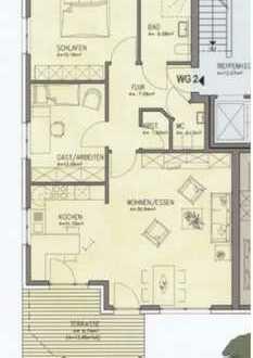 Neuwertige 3-Raum-Erdgeschosswohnung mit Balkon in Georgsmarienhütte
