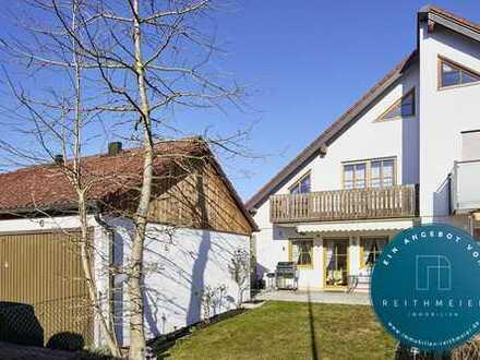 REITHMEIER IMMOBILIEN - Charmantes Quattrohaus in Eichenau, Nähe Starzelbach