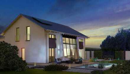 Designhaus mit einzigartiger Tageslichtwand - in ruhiger Wohngegend gelegen!