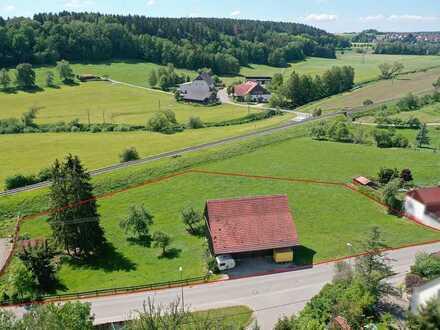 Tolles Grundstück in ruhiger Ortsrandlage von Meßkirch-Igelswies