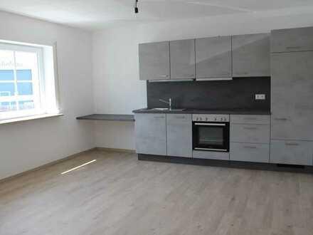 Erstbezug: ansprechende 1-Zimmer-EG-Wohnung mit EBK in Marktoberdorf