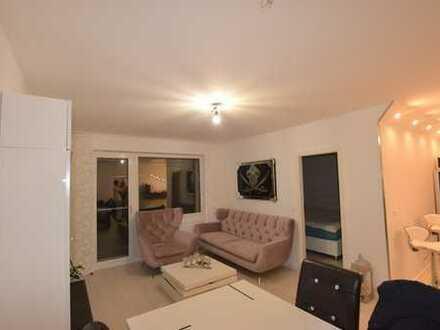 Neu sanierte 4-Zimmer-Wohnung mit Balkon und Skyline-Blick in Eschborn