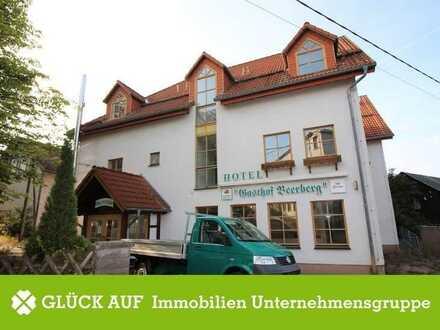 Hotelanlage / Pot. Ferienwohnungen mit Blick auf den Thüringer Wald