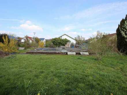 Einmalig: Baugrundstück im ruhigen und gewachsenen Wohngebiet ohne Bauzwang in Ersingen