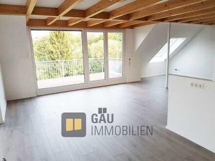 *Reserviert*Traumhafte Maisonette DG-Wohnung mit großzügigem Balkon und Blick ins Grüne