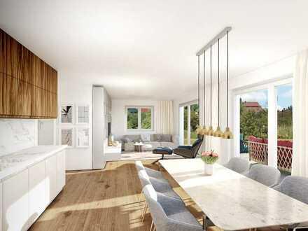 NEUBAU! Traumhaft schöne 3-Zimmer-Wohnung mit Terrasse und Garten!