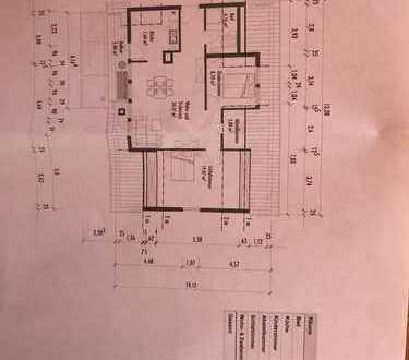3-Zimmer-Dachgeschosswohnung mit Balkon und Einbauküche in Groß Sarau