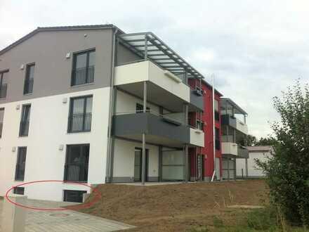 Mietwohnung / Büroraum in Kühbach, Soutterain ohne Balkon