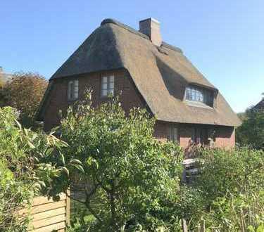 Einzelhaus unter Reet in Alt-Westerland