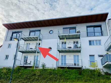 Neuwertige 2-Zimmer-Wohnung mit Balkon und Einbauküche in Simbach