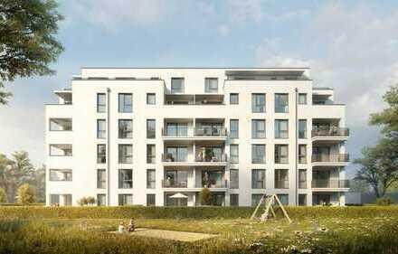 Wohnen im Zentrum! 3-Zimmer-NEUBAU-Wohnung mit Terrasse und Garten