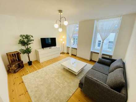 ERSTBEZUG: möbliertes Apartment im Herzen von Neukölln/ furnished Apartment in the heart of Neukölln