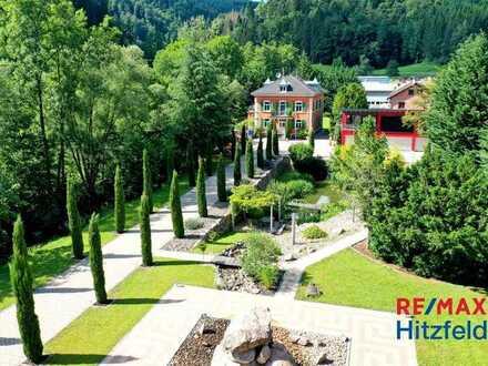 Repräsentatives Anwesen (über 5.700 m²) mit Jugendstilvilla und Bürogebäude