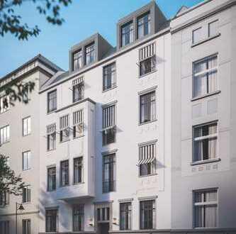 Df.-Oberbilk: Attraktive 2-Raum-Wohnung in stilvolllem Altbau