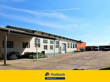 Büro- und Lagerhallen, Werkstatt und Wohnen - Grdt. 5024 m² in 99092 Erfurt, Anlageobjekt