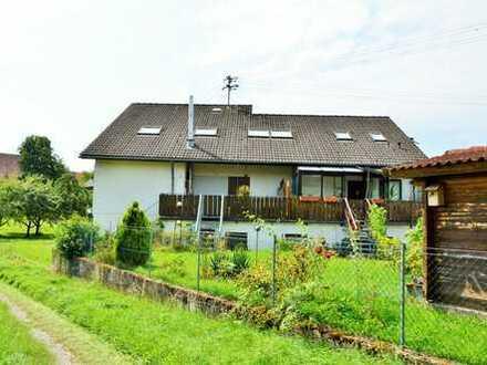 Superschöne und helle Dachgeschoss-Eigentumswohnung in der Nähe von Dörzbach- idyllische Lage