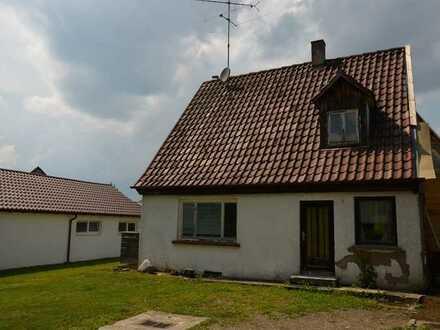 Sanierungsbedürftiges Einfamilienhaus in Hochdorf-Schweinhausen