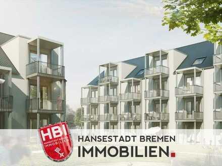 Hastedt / Neubau - Exklusive 1-Zimmer-Wohnung mit Terrasse