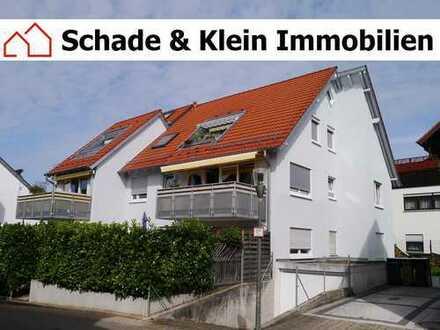 Dachgeschosswohnung mit Loggia und TG-Stellplatz im Zentrum von Köngen