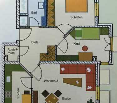 3,5 Zimmer EG + Hobbyraum + Garten in Schwabhausen