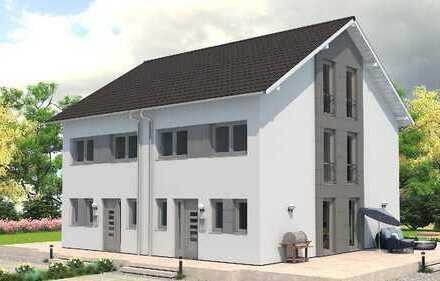 FAMILIENFREUNDLICHE Doppelhaushälfte mit  ca. 137 m², 5 Zimmer, Garten und Garage