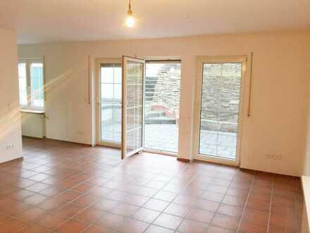 Großzügige 3-Zimmerwohnung in Balduinstein/Diez mit einer imposanter Terrassenlandschaft