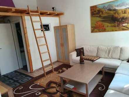 Stilvolle 1-Zimmer-Loft-Wohnung mit Einbauküche in Tübingen