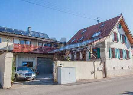 Wohnen und Arbeiten: Teilvermietetes Wohn- und Geschäftshaus nahe Freiburg