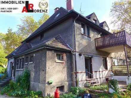 LORENZ-Angebot in Günnigfeld:Modernisierungsbedürftige 1-/2-Fam.-Doppelhaushälfte.Ehemals Steigerhs.