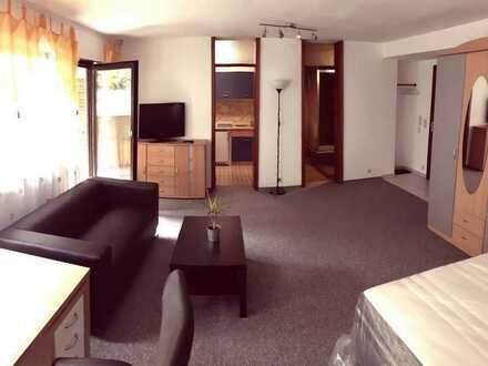 NUR für Pendler - Top 1-Zimmer Wohnung komplett möbliert
