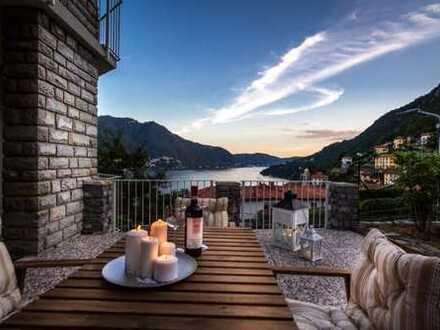 Moltrasio, Comer See - Wundervolle Dreizimmerwohnung mit Seeblick
