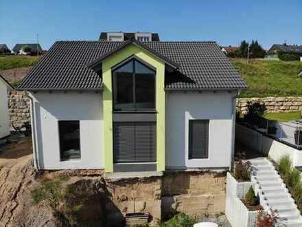 Neuwertiges, technisch hochwertig ausgestattetes Architektenhaus in Ortsrandlage
