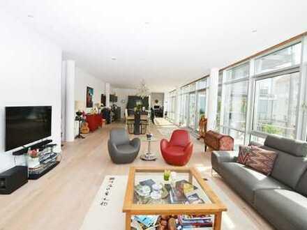 MunichRealty - repräsentativer Luxus-Designer-Loft mit allem Komfort, direkt am Isarhochufer/Thalk.