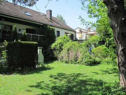 Ruhige 3-Zimmer-Wohnung mit Garten in Gröbenzell