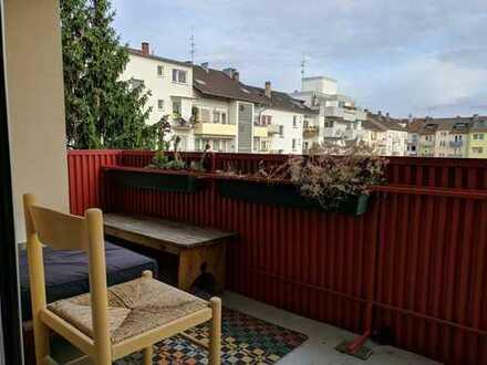 Schöne, geräumige Ein-Zimmer-Wohnung in Mannheim, Lindenhof