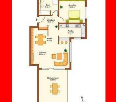 2 Zi.-Penthouse Wohnung am Weinberg