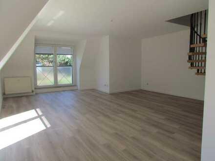 Moderne 3,5-Raum-Maisonette-Wohnung mit großem Südbalkon in der Südweststadt