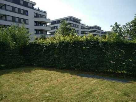 Wunderschöne 4-Zimmer-Erdgeschosswohnung mit EBK und Garten in Schwabing/Freimann, München