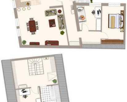 Zugreifen! Super Wohnlage 4,5 Zimmer Maisonettewohnung in Bad Mergentheim