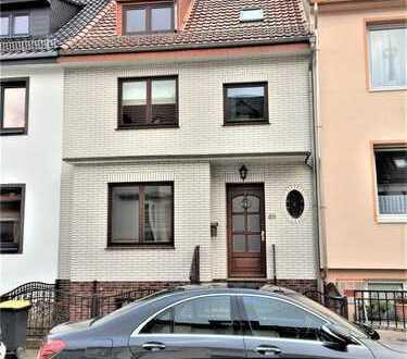 Woltmershausen! Ruhig gelegene 5 Zimmerwohnung über 2 Ebenen!