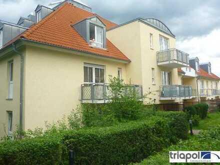 Gemütliche 1-Zi-Wohnung mit Terrasse am Stadtrand von Dresden.