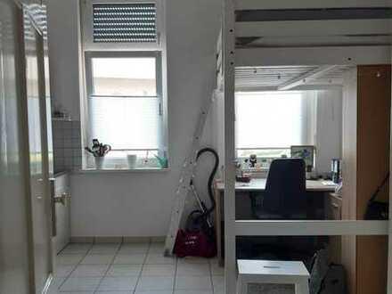 Stilvolle, vollständig möblierte 1-Zimmer-Wohnung mit Einbauküche in Landau in der Pfalz