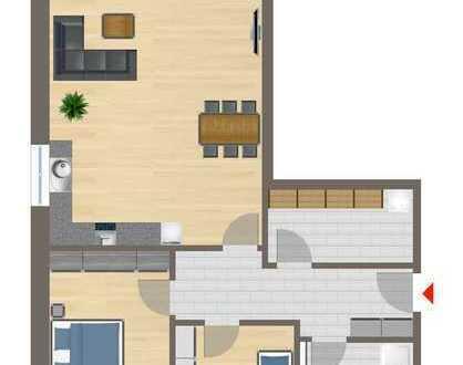 Wohnung Nr. 1 mit 115 m² Garten