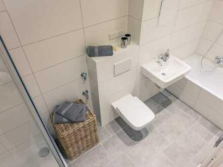 2-Raum-Wohnung mit Dusche und Wanne