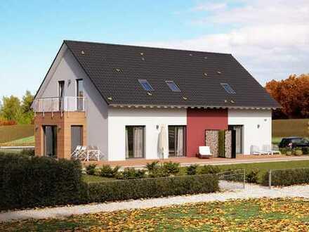 Zwei Wohnungen in einem Haus! Informieren Sie sich über unser cleveres Wohnraumkonzept!