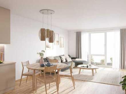 Helle 2-Zimmer-Wohnung mit Balkon - WE14
