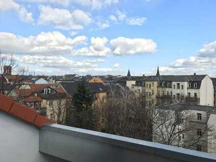 Sie suchen das Besondere - Dachgeschosswohnung mit Terrasse und EBK im Hechtviertel